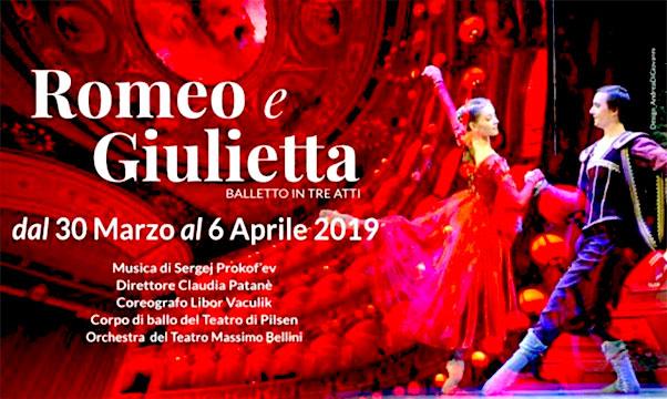 Romeo e Giulietta.- teatro palchi