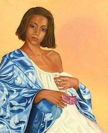 Rosaria Caniglia ritratto di donna